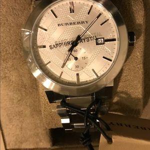 Burberry BU9900 42mm Silver Bracelet Men's Watch